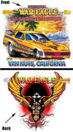 NEW!!! Drag Racing Hall of Fame War Eagle Kids T-Shirt