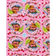 Anna Maria Horner Loulouthi - Curated Bloom - June Fabric   ***cushion covers?***