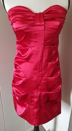 542c9744d59 Speechless Red Strapless Dress Size 5