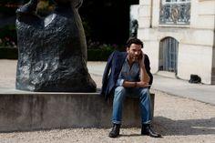 The Sartorialist / On the Street…Musée Rodin, Paris  // #Fashion, #FashionBlog, #FashionBlogger, #Ootd, #OutfitOfTheDay, #StreetStyle, #Style
