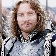 It makes absolutely no rational sense so don't even try, but this gif if Boromir looking so calm and happy and elegant is very calming right now.