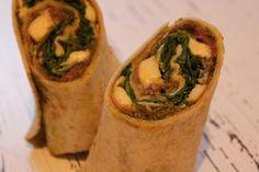 In meiner Wrap-Woche gibt es heute einen deftigen Schinken Mozzarella Wrap als gute Grundlage für das Wochenende.