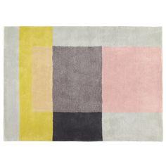 Hay - Colour Carpet 05, hell (graublau / rose / gelb) Verschiedene Farben T:170 B:240