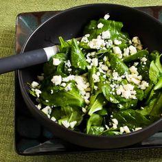 Kalyn's Kitchen®: Recipe for Arugula and Gorgonzola Salad with Balsamic Vinegar