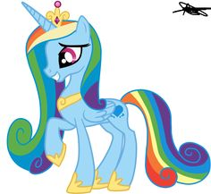 Princess Cadence Version Rainbow Dash by ~AndreaMelody on deviantART