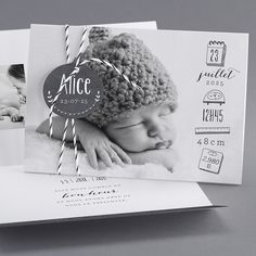 Faire-part : cap sur le noir et blanc fotos The Babys, Baby Co, Baby Birth, Baby Kids, Newborn Pictures, Baby Pictures, Book Bebe, Foto Newborn, Foto Baby