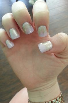 Glitter polish...by Denise
