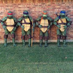 DIY Movie-qualtiy Teenage Mutant Ninja Turtles costumes