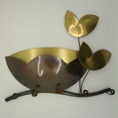 Ivy Key & Letter Holder & Mural Decoration / Bronze Handicraft Art Home Deco Key And Letter Holder, Handicraft, Home Deco, Ivy, Bronze, Decoration, Tableware, Gifts, Craft
