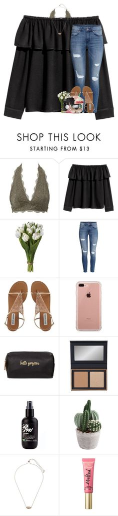 """i'm permanent you can't erase me"" by theblonde07 ❤ liked on Polyvore featuring Charlotte Russe, H&M, Belkin, Neiman Marcus, ARI, Kendra Scott, Too Faced Cosmetics and Victoria Beckham"
