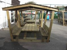 Childrens Picnic Table Shelter