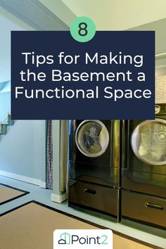 Not sure what to do with the basement in your home? It's easy for it to become a dark and dingy area you want to avoid, but you could be missing out on so much! A basement can be a blank canvas you can transform for any number of uses. If you're not sure where to start, we've listed 8 top tips that will help you rework your basement into a functional space – no matter your budget. Home Design Decor, House Design, Cool Rooms, Laundry Room, Basement, Kitchen Appliances, Blank Canvas, Space, Budget