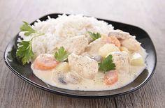 Blanquette de veaulégère Weight Watchers, un plat complet traditionnel en version allégée, facile et simple à préparer pour un repas léger.