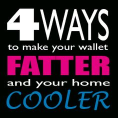 Stay cool and save money with an upgraded HVAC system.