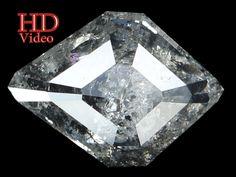 1.66 Ct Natural Loose Diamond Antique Salt And Pepper 10.30X7.40X3.30 MM L9214