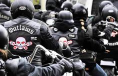 Outlaws Motorcycle Club - The 10 Most Dangerous Biker Gangs in America Biker Clubs, Motorcycle Clubs, Outlaws Mc, Harley Davidson, Outlaws Motorcycle Club, Cafe Racer Style, Biker Gear, Hells Angels, Biker Patches