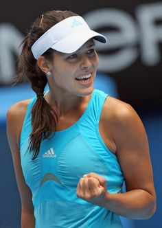 Ana Ivanovic, serbian tennis player.                                                                                                                                                                                 Plus