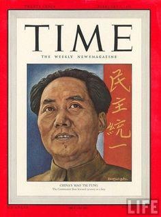 Artista CINAsci: Time Magazine: i dodici volti del Grande Timoniere...
