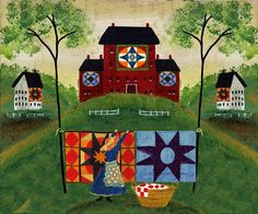 Like Making Arts And Crafts Read Here To Make Making Things Easier 31 – Arts and Crafts House Quilts, Barn Quilts, Barn Quilt Designs, Quilting Designs, Easter Arts And Crafts, Primitive Painting, Cottage Art, Colorful Paintings, Acrylic Paintings