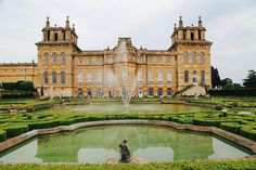 Blenheim Palace is a monumental English country house situated in Woodstock, Oxfordshire, United Kingdom.