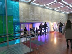 Reception area in La Grande Arche (housing many of IESEG's classrooms) @ IESEG School of Management, Paris