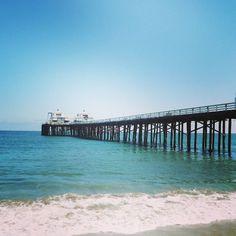 Morning walk... #Malibu #MalibuPier #beach #ocean #waves #picoftheday #photooftheday
