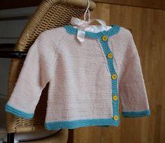 Custom Hand Knit Baby Cardigan for Newborn or Baby Girl Boy