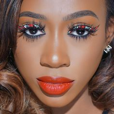 48 Red Lipstick Looks – Get ready for a new kind of MAGIC Red Lipstick Makeup Blonde, Dark Red Lipstick Matte, Red Lipstick Looks, Sheer Lipstick, Red Lipsticks, Blonde Hair Girl, Ombre Lips, Hair Shades, Nyx Cosmetics