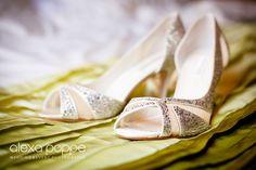 wedding shoes by www.alexapoppeweddingphotography.com
