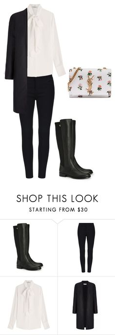 """""""Untitled #201"""" by doda-laban on Polyvore featuring Tory Burch, Valentino and Yves Saint Laurent"""
