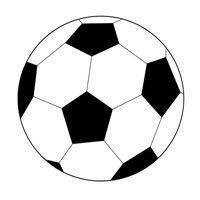 Vorlage für Fußball (zum Ausschneiden)