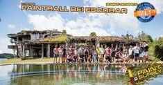 """Hallo liebe Paintballer, wer mal in Kolumbien ist und Paintball liebt, der sollte mal beim Drogenkönig Pablo Escobar vorbeischauen. Der legendäre Drogenkönig von Kolumbien ist im Moment nicht """"zuhause"""" und daher wird seine riesige Villa """"LA MANUELA RANCH"""" als Paintball Spielfeld genutzt. Wir haben für euch ein Video von der Veranstaltung. Daumen hoch für die sinnvolle Nachnutzung."""