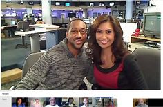 Got to meet Jaleel White while he visited the studio of FOX 11 LA where Maria Quiban & Tshaka Armstrong hosted a Google+ Hangouts On Air