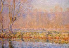 Claude Monet The Willow oil painting reproductions for sale.