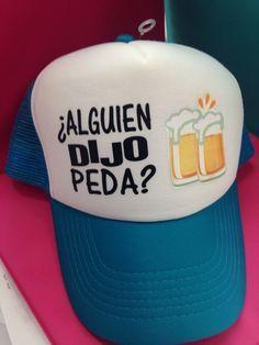 Resultado de imagen para gorras con frases de moda