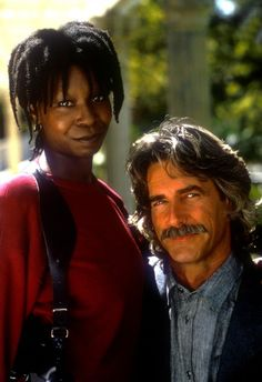 """I love Whoopi Goldberg, too, but this is by far the best picture I could find of Sam Elliot. Again, like Sean Connery, all he has to do is speak. """"Beef. It's what for dinner."""" I'll have some, sir...."""