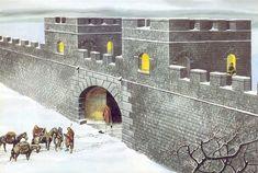 ROMAN: Roman Wall, by Ron Embleton.