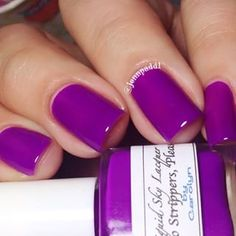 No Strippers Please - Liquid Sky Lacquer