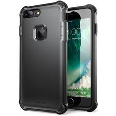 iPhone 7 Plus Case, i-Blason Venom [Dual Layer] Apple iPhone 7 Plus Case Cover [Ultra Slim] Hybrid TPU Cover / Hard Outter Shell (Black)