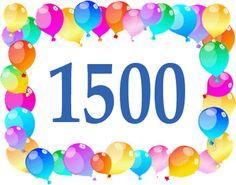 Bloguinho da Vânia: 1500 postagens