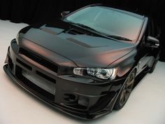 Black Illusion  Bodykit - Mitsubishi EVO X 2008