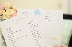Lista de compras para chá de casa nova e chá de panela