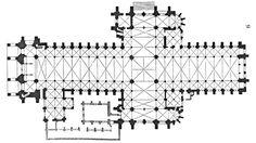 plan cathedrale laon - Google Search