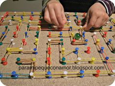 Elderly Activities, Occupational Therapy, Creative Kids, Fine Motor, Sunday School, Homeschool, Triangle, Lego, Projects