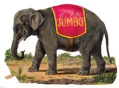 Jumbo Diecut Elephant