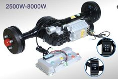 electric tricycle Automatic Shift Rear Axle motor and controller kit Dr. Electric Car Engine, Electric Go Kart, Electric Tricycle, Electric Cars, Electric Vehicle, Electric Transportation, Solar Panel Manufacturers, Electric Car Conversion, Trike Motorcycle