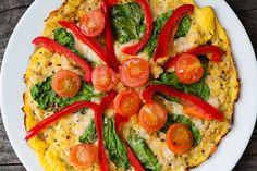 Raw Vegan Not Gross - Cauliflower Pizza
