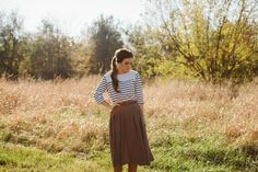 Three great skirts for fall, made without a pattern / Create / Enjoy