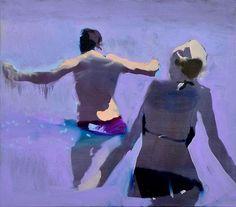 Nick Bodimeade. Naxos 3. Oil on canvas. 71 x 76cm.
