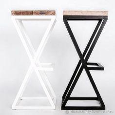 Plastic Chair With Cushion - - - Loft Furniture, Steel Furniture, Furniture Design, Recycled Furniture, Handmade Furniture, Metal Chairs, Cool Chairs, Bar Chairs, Chair Design Wooden